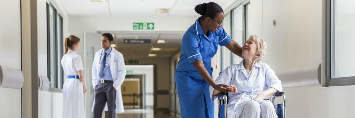 Atendimento no Hospital